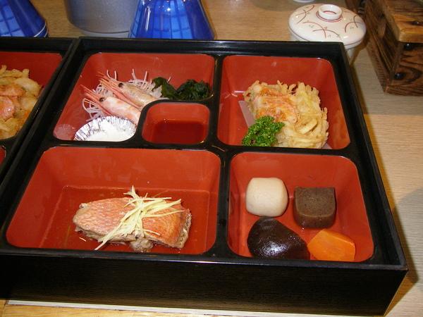 本日午餐:日式定食