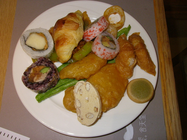 lab dinner饗日式百匯01212010e.JPG