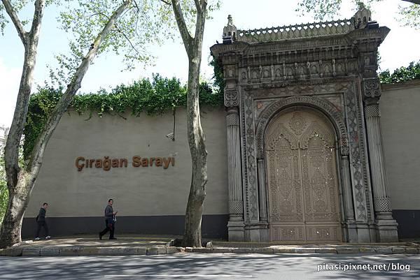 【伊斯坦堡】契拉昂宮殿中吃下午茶Gazebo Lounge