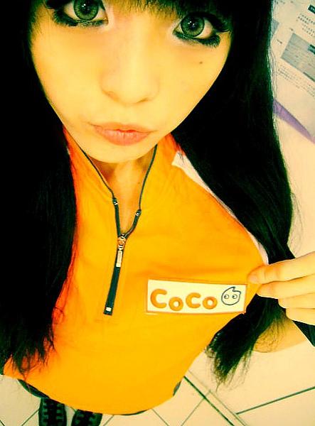 CoCo都可店員小音