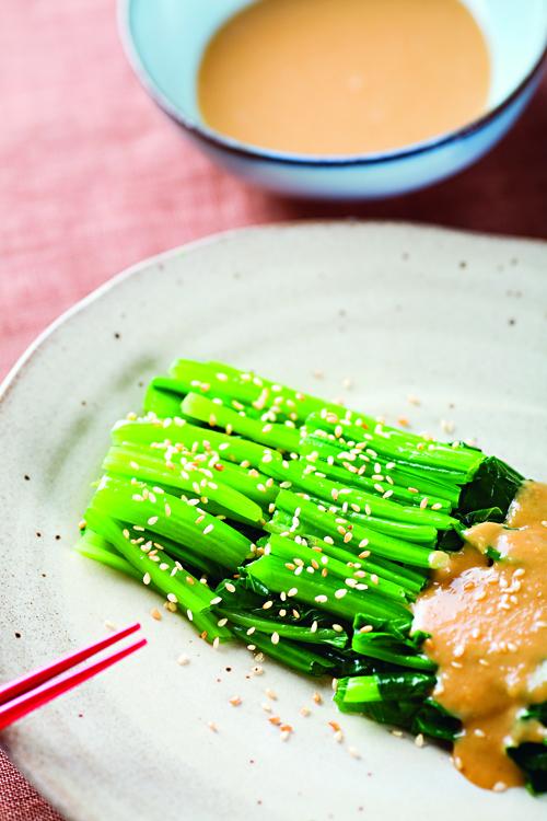 芝麻味噌醬菠菜