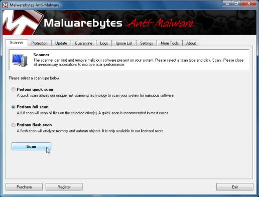 start-scan-malwarebytes