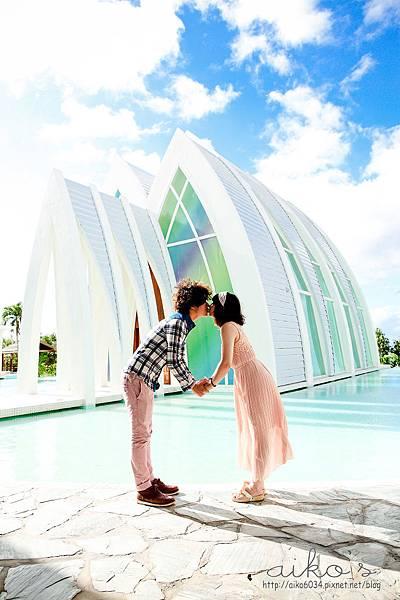 05.關島有許多美麗的教堂,隨時都可以來場自助婚紗