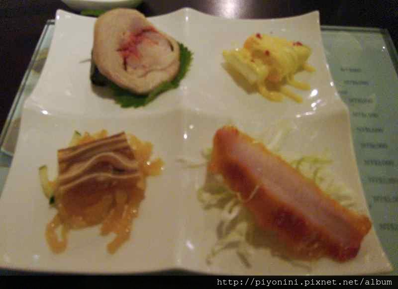 前菜 - 晶華軒的翠玉白菜套餐