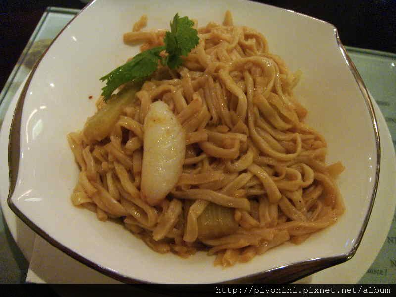 蟹腳麵 - 晶華軒的翠玉白菜套餐
