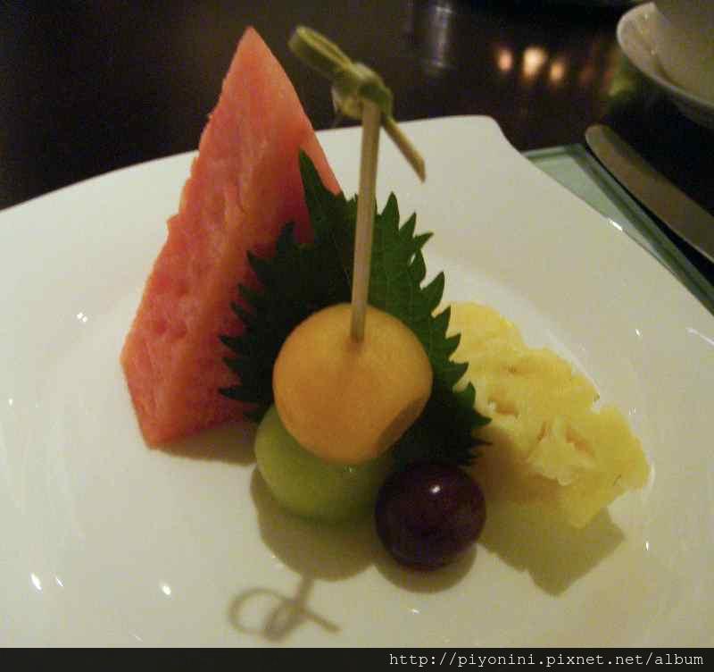 四季水果盤 - 晶華軒的翠玉白菜套餐