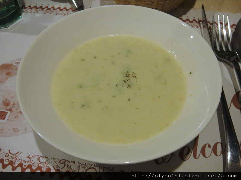 綠花椰菜濃湯 - 慕斯卡