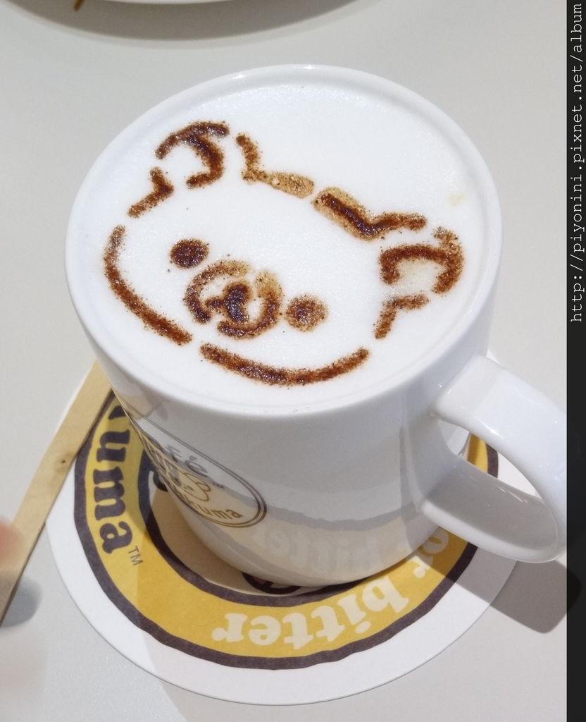 熱拿鐵@Rilakkuma Cafe