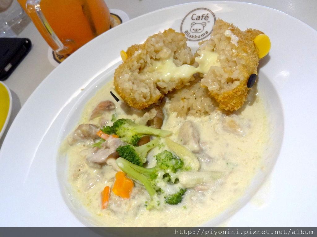 拉拉熊白醬雞肉飯@Rilakkuma Cafe