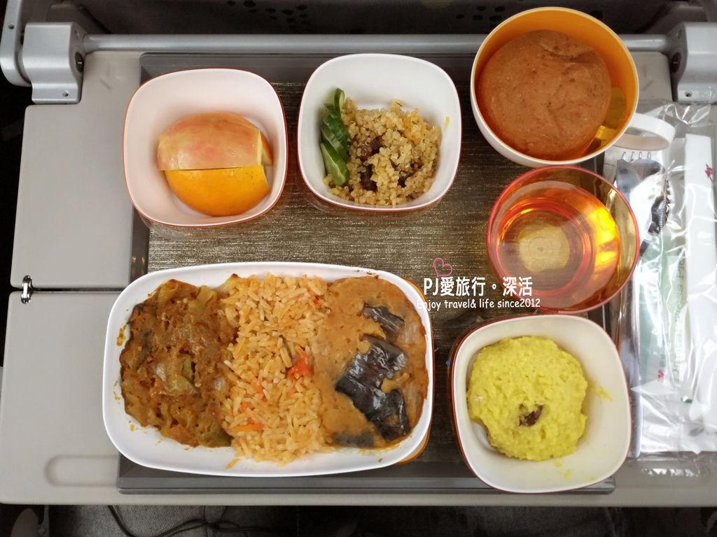 PJ大俠飛機特別餐印度餐
