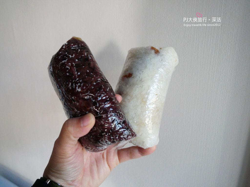 PJ大俠澎湖自由行必吃美食早餐文康街二呆飯糰