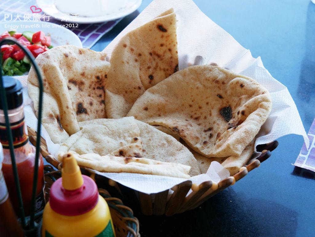 PJ大俠埃及經典傳統美食必吃烤餅