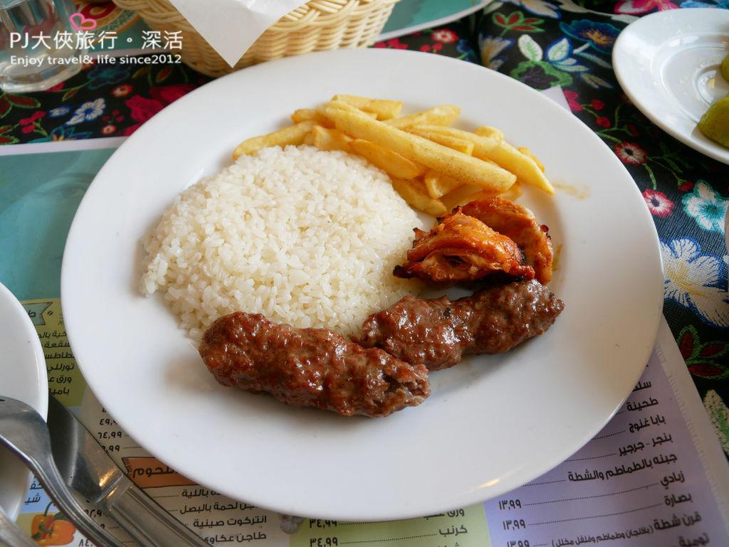 PJ大俠埃及經典傳統美食必吃推薦烤肉串