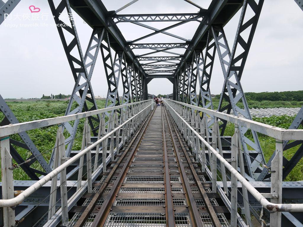 PJ大俠虎尾一日旅遊景點必去鐵橋