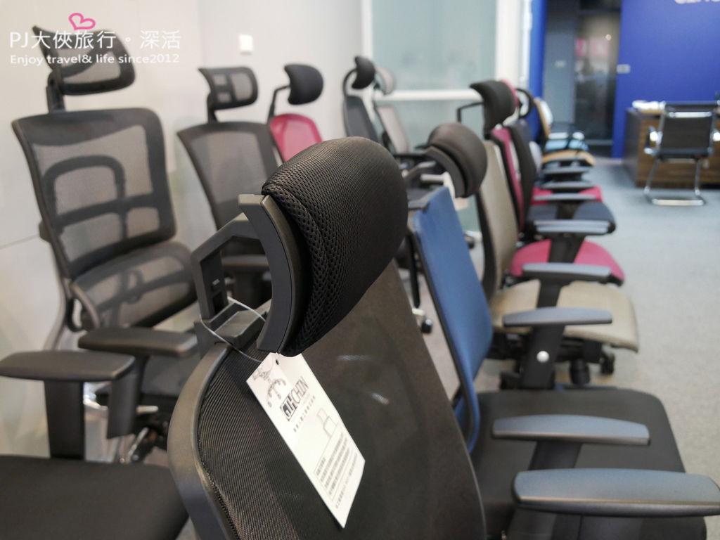 聚慶GIHCHIN專業人體工學椅店面