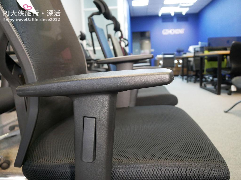 聚慶GIHCHIN專業人體工學椅把手