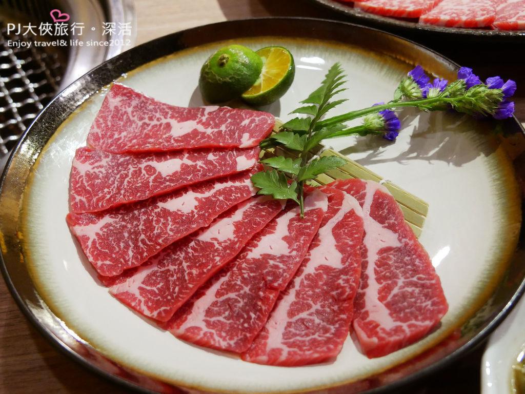 澄居文心店燒肉澳洲和牛大腹肉
