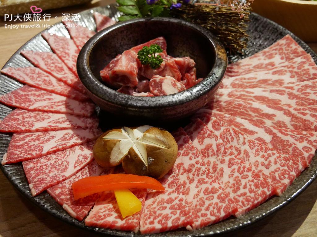 澄居文心店燒肉澳洲和牛套餐