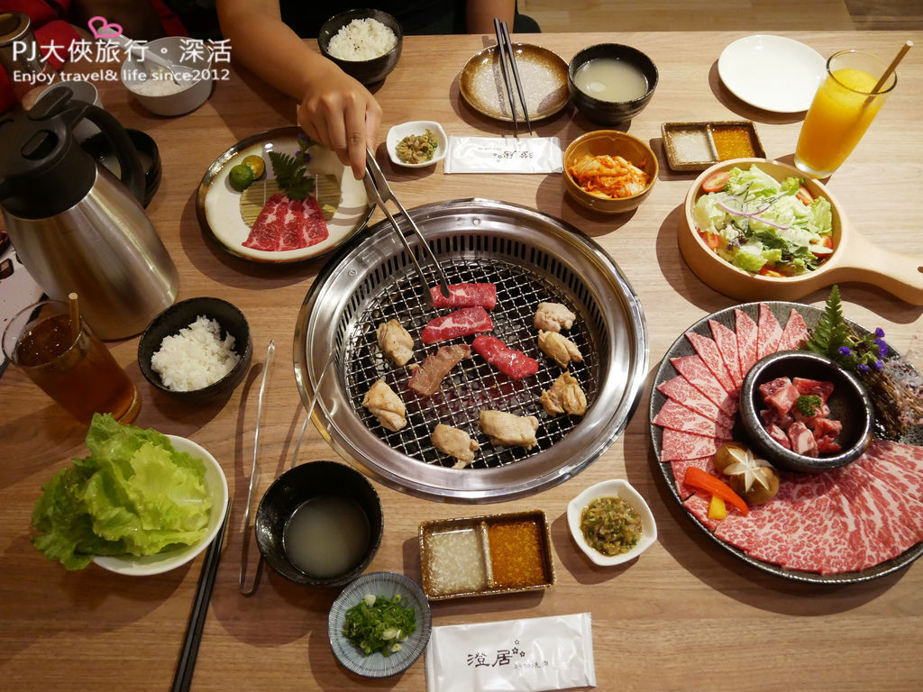 澄居文心店燒肉1980雙人套餐