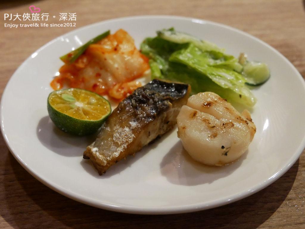 澄居烤物燒肉文心店鯖魚干貝