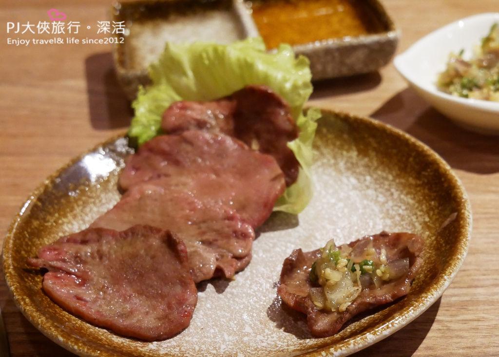 澄居烤物燒肉文心店牛舌