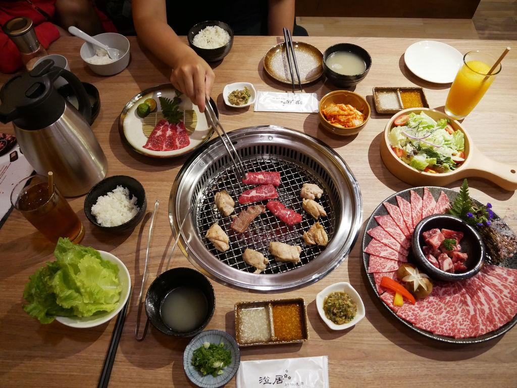 澄居烤物燒肉文心店