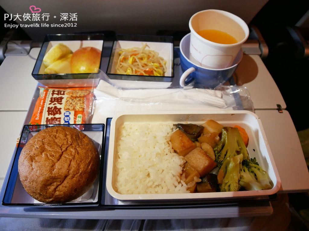 PJ大俠飛機特別餐華航東方素食VOML