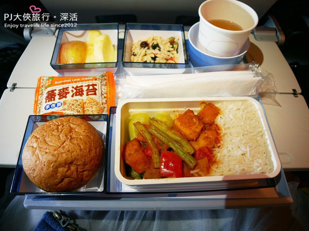PJ大俠飛機特別餐品嘗體驗華航耆那教餐 VJML