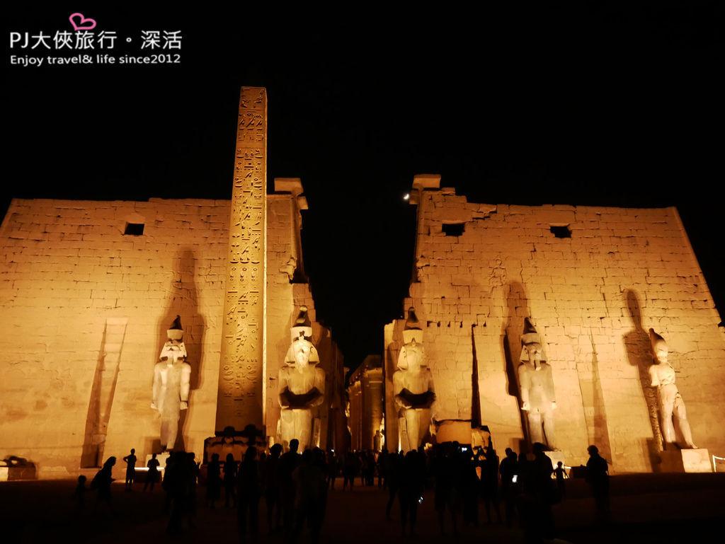 PJ大俠埃及旅遊路克索Luxor神殿