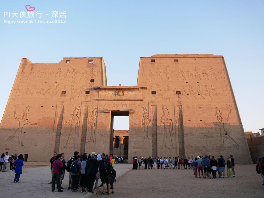 PJ大俠埃及旅遊艾德福Edfu神殿