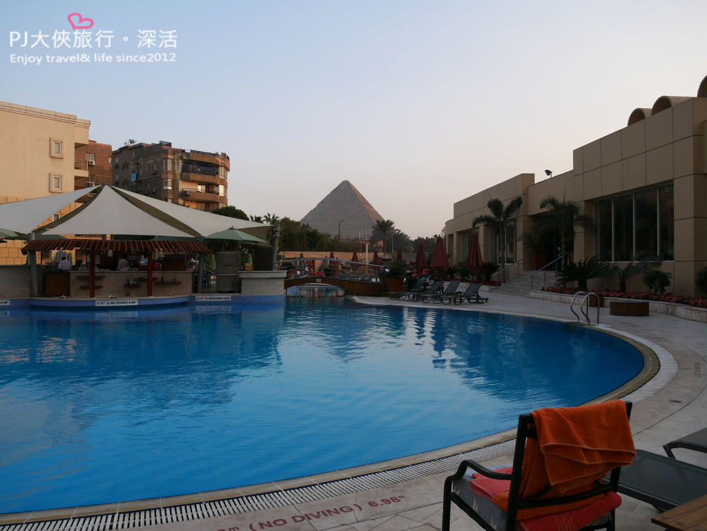 PJ大俠埃及開羅旅遊艾美酒店Le Méridien Pyramids Hotel金字塔附近住宿