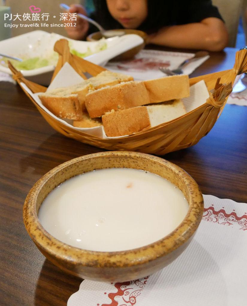 PJ大俠慈夢柔渡假會館晚餐