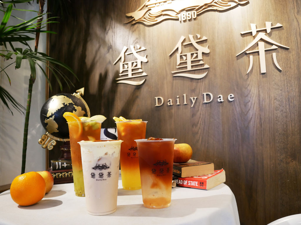 PJ大俠台中黛黛茶Daily Dae 手搖水果紅茶飲品