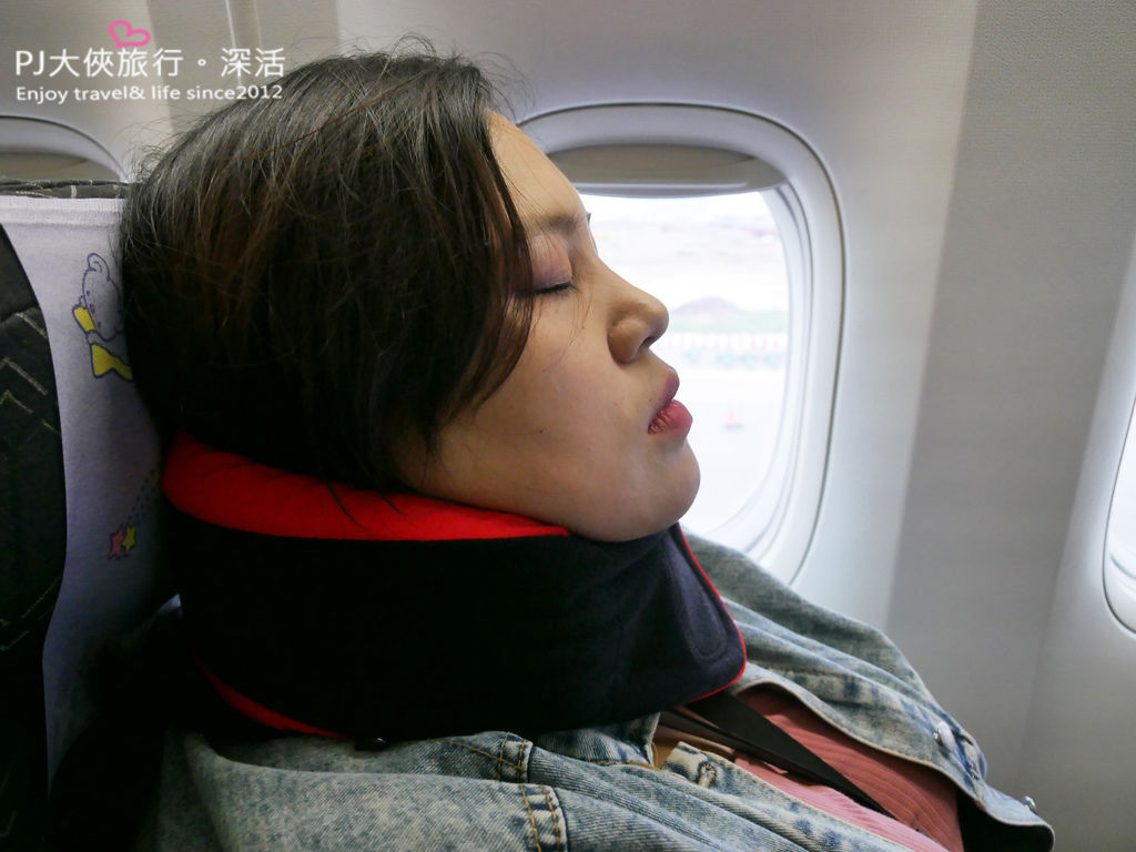 PJ大俠旅行小物推薦旅行頸枕枕頭搭機搭車方便