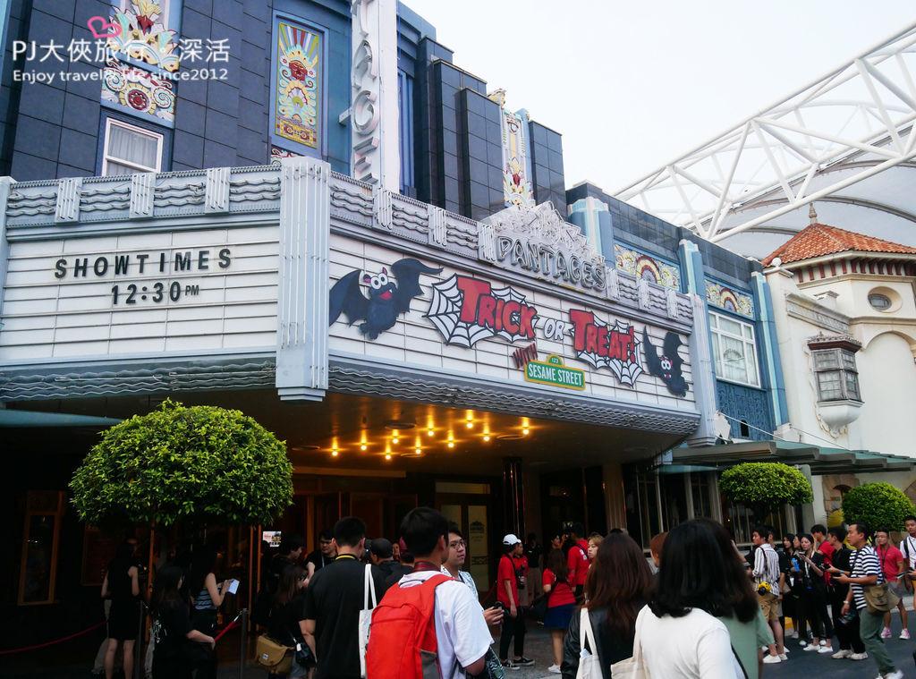 PJ大俠新加坡環球影城萬聖節驚魂夜活動體驗