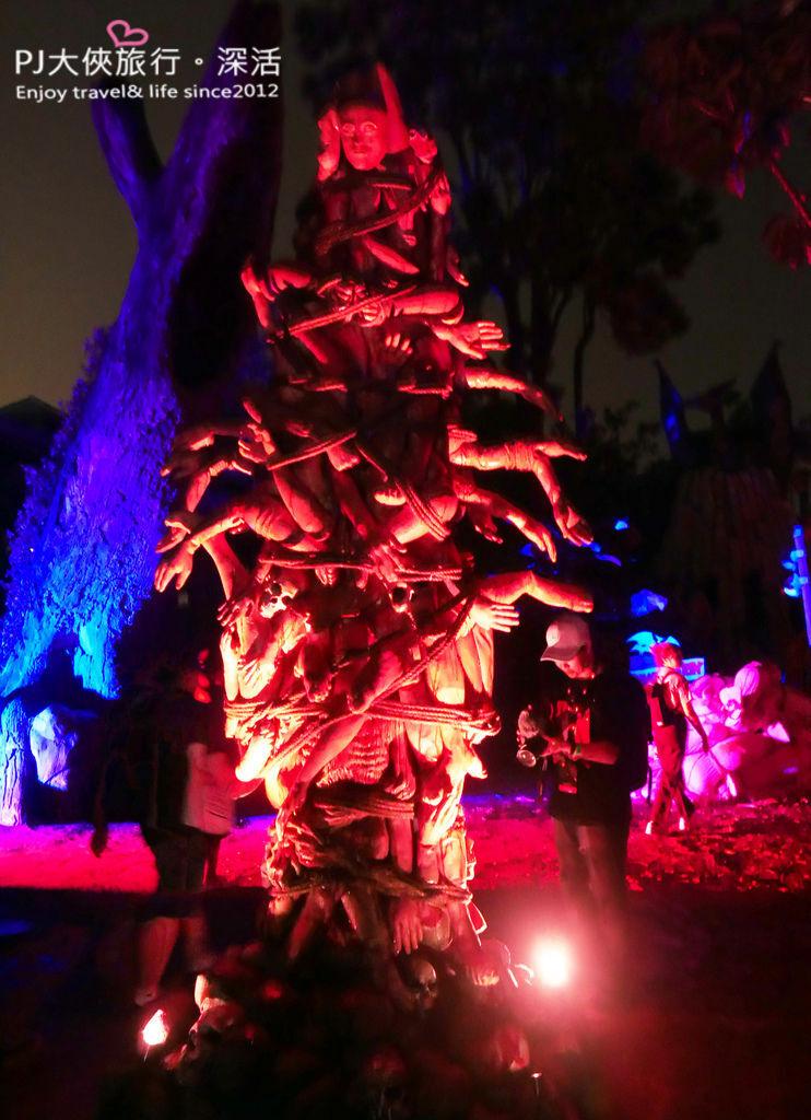PJ大俠新加坡環球影城萬聖節驚魂夜活動體驗音樂節
