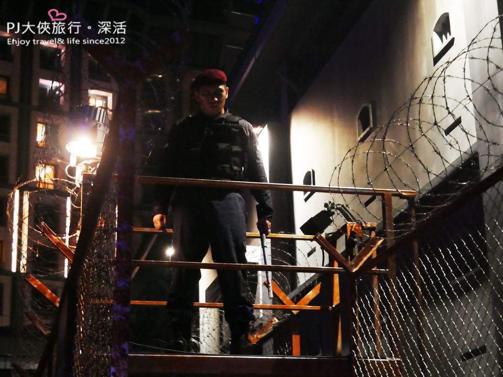 PJ大俠新加坡環球影城萬聖節驚魂夜活動體驗監獄鬼屋