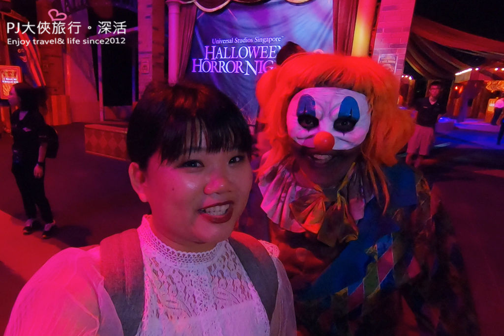 PJ大俠新加坡環球影城萬聖節驚魂夜活動體驗嘉年華