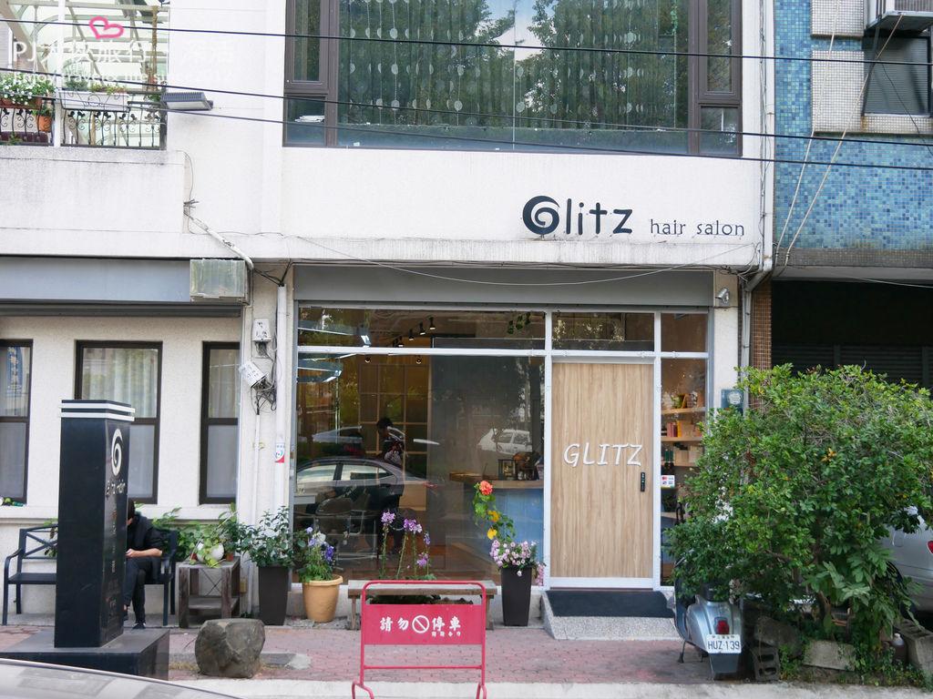 GLITZ HAIR髮廊總店店面外觀環境