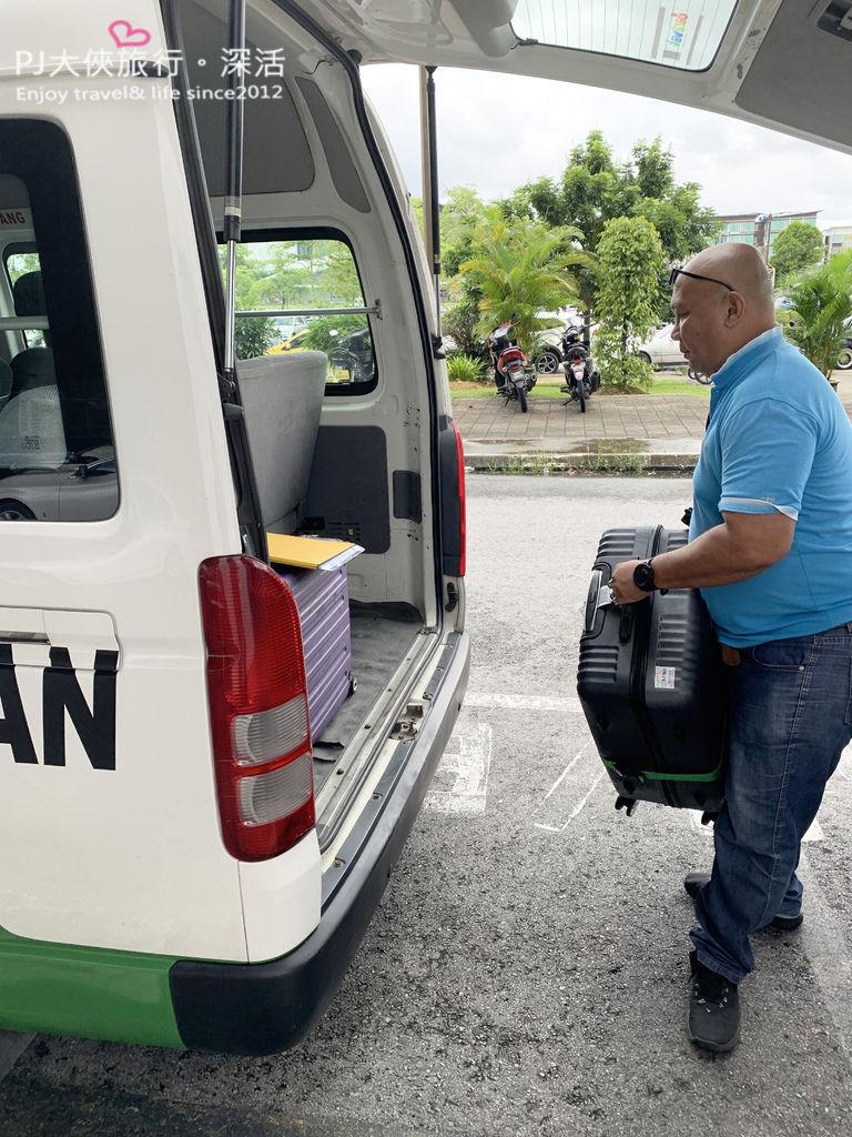 PJ大俠馬來西亞砂勞越古晉旅遊機場接送客路