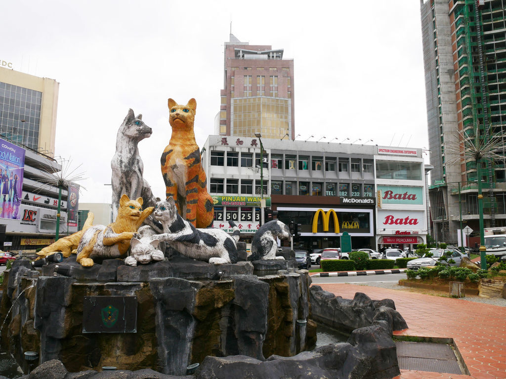 PJ大俠古晉旅遊自由行市區景點半日遊客路體驗心得