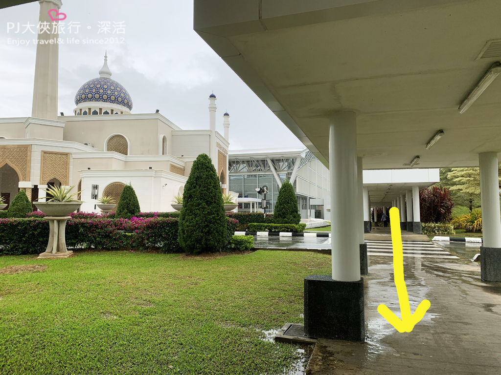 PJ大俠婆羅洲汶萊自由行自助教學Dart叫車APP機場