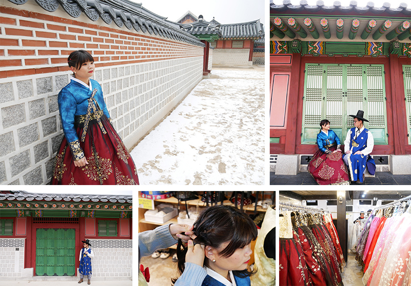 PJ首爾韓服體驗傳統服飾自由行自助旅遊