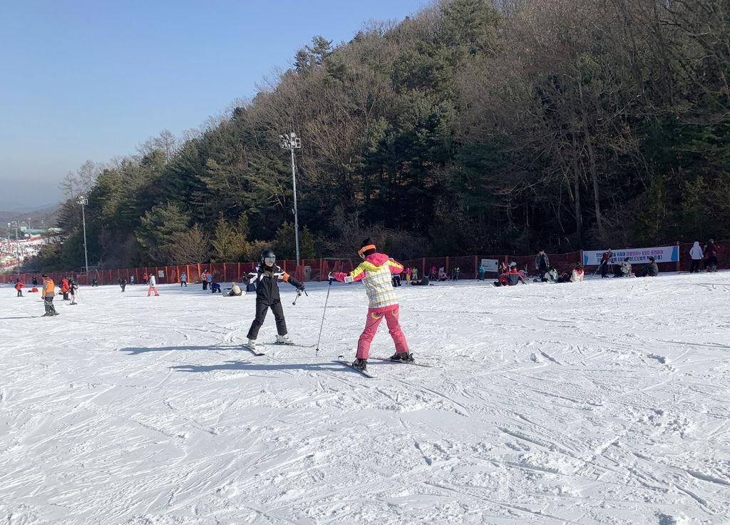 PJ首爾旅遊自由行客路優惠維爾瓦第Vivaldi Park 滑雪場