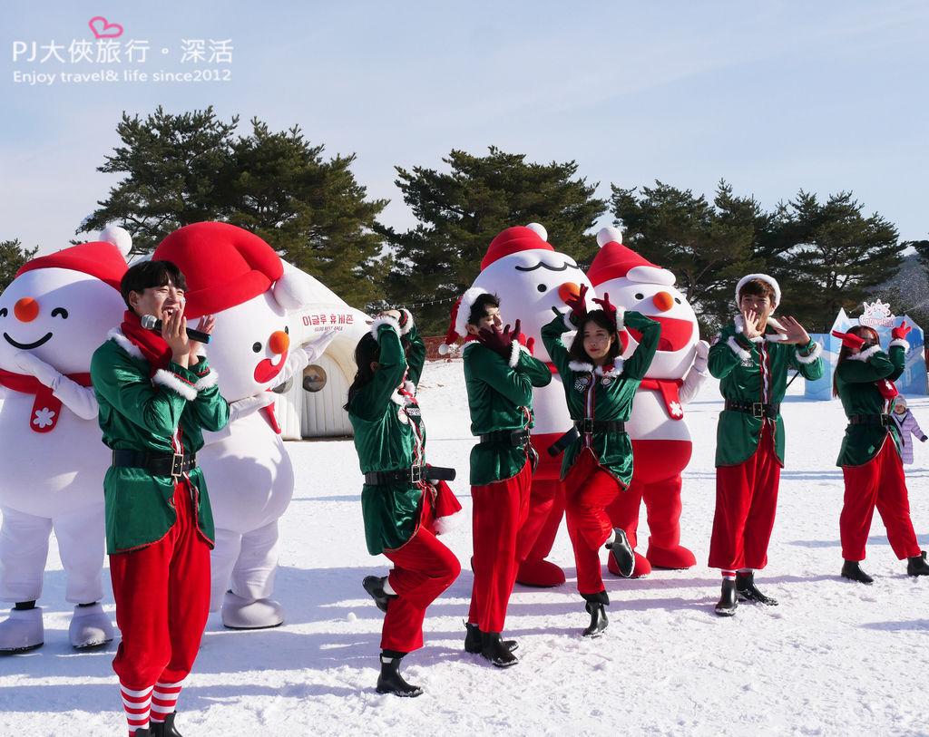 PJ大俠韓國首爾自由行自助旅遊玩雪小朋友適合冰雪王國遊樂園
