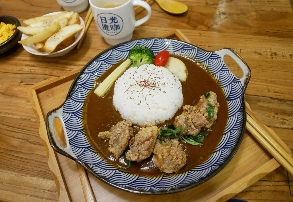 PJ台中美食逢甲商圈附近餐廳日光造咖咖哩專賣店
