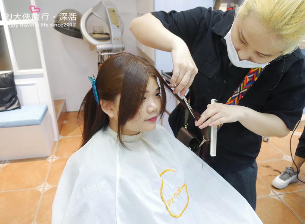 GLITZ HAIR髮廊總店流行美人魚夢幻漸層髮色染髮