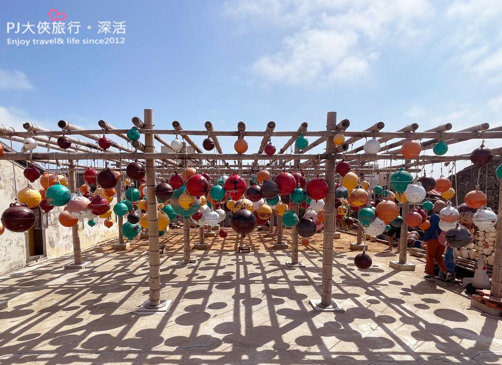 澎湖旅遊新景點2021南北環自由行彩色浮球