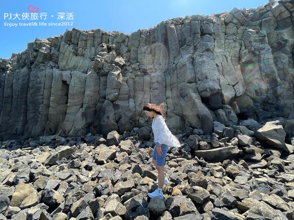 澎湖旅遊新景點2021南北環自由行池西岩瀑