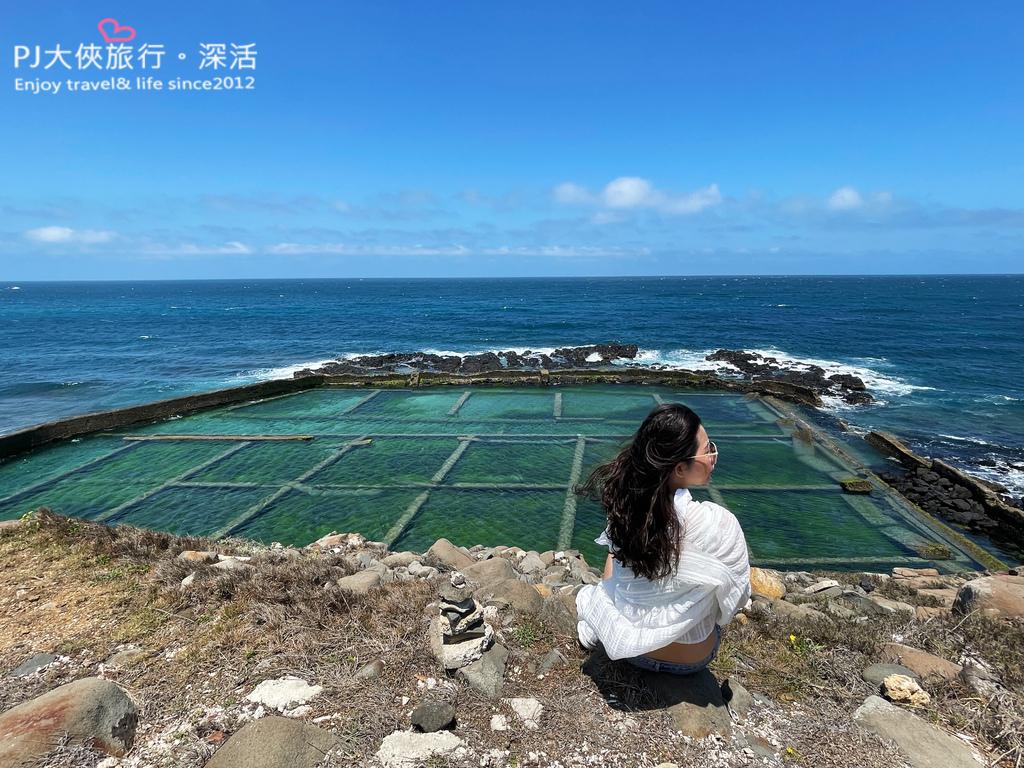 澎湖旅遊新景點2021南北環自由行九孔岩瀑